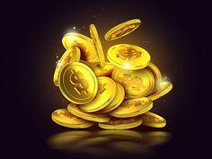 Golden coins by Nir Shindler