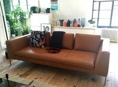 Canapé en cuir Montino d'Habitat