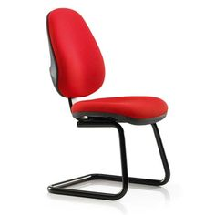 chairs on wheels uk folding electric chair 34 best office without no castors images topaz high back cantilever visitor