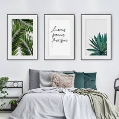 Diy Home Decor Chambre Ideas For Amazing Home Decorating Design diyhomedecor diyhomeideas homedesign ⋆ amplifiermountain org is part of Bedroom green - Pretty Bedroom, Bedroom Green, Home Bedroom, Modern Bedroom, Bedroom Ideas, Bedroom Frames, Bedroom Prints, Bedroom Designs, Bedroom Inspiration