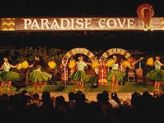 Luau Hawaii Paradise Cove - Took our sons and their wives on a vacation to Hawaii, visitng Paradise Cove, snorkeling, stayed on the North Shore, volcano on main island, etc.  It was a wonderful bucket list dream - completed 2009.