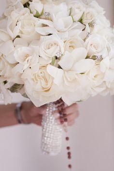 White Bouquet @nikki striefler striefler striefler striefler Thomas