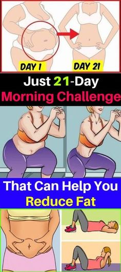 Just 21-Day Morning Challenge That Can Help You Reduce Fat – OBSOLO