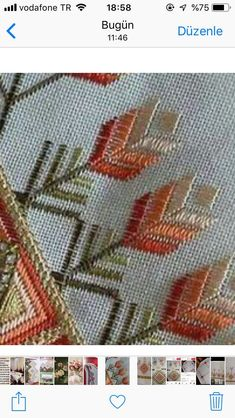 Pair of matted and framed Hardanger Embroidery needlework Hand Embroidery Flowers, Hand Embroidery Stitches, Ribbon Embroidery, Cross Stitch Embroidery, Embroidery Designs, Cross Stitch Borders, Cross Stitch Patterns, Bargello Needlepoint, Weaving Designs