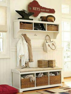 Organize your mud room