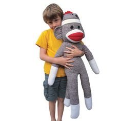 Really Big Sock Monkey