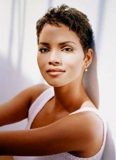 Halle Berry Short Hairstyles hally berry short hair Halle Berry Is Any Other Comment Necessary Woman Hairstylesshort
