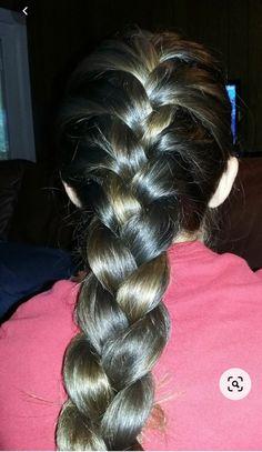 Beautiful Long Hair, Beautiful Women, French Braid Hairstyles, Plaits, Girl Face, Buns, Ponytail, Close Up, Palm