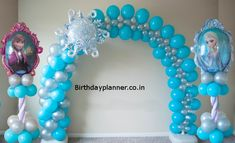 Kids Party Balloons in Houston, TX will be the perfect addition to your child's theme birthday party, kids birthday. We have balloon decorations that you can afford. Frozen Balloon Decorations, Frozen Balloons, Balloons And More, Balloon Centerpieces, Birthday Decorations, Frozen Centerpieces, Frozen Birthday Party, Frozen Party, Birthday Parties