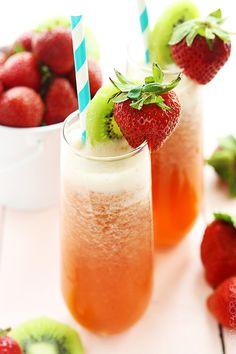 Strawberry Kiwi Lemonade Recipe - RecipeChart.com