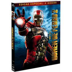 DVD Homem de Ferro 2 - DVD Duplo