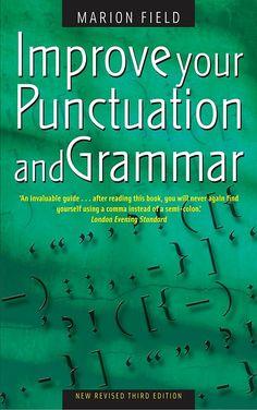 Master the essentials of the English language and write with greater confidence DOWNLOAD: Improve Your Punctuation and Grammar (PDF)LINK DOWNLOAD:https://drive