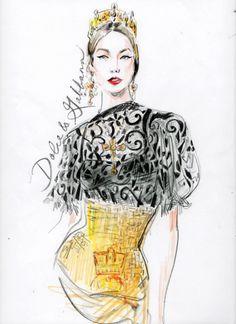 Illustration.Files: F/W 2013 Illustrations by Regina Yazdi | Draw A Dot.