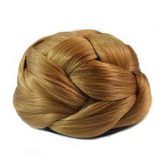 Wig Hair Pack Bun Vintage Chignon J-12 26# - Default Title