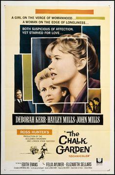 The Chalk Garden, 1960's, Hayley Mills, Deborah Kerr, John Mills.