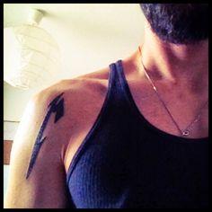 So nu is es raus.. Damit lässt sich mein Musikgeschmack wohl nicht mehr verstecken.. #Körperschmuck #Tattoo