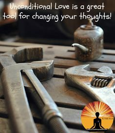 #UnconditionalLove is a great #tool for changing your #thoughts!