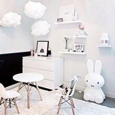 White. Kids room