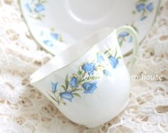 Vintage Tea Cup and Saucer by Occupied Japan by MariasFarmhouse