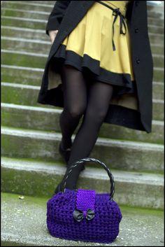 Hit the sity in Style! Crochet Handbag! https://www.etsy.com/shop/InoriCreations