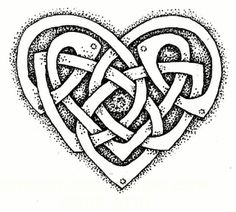 Love Knot Drawing