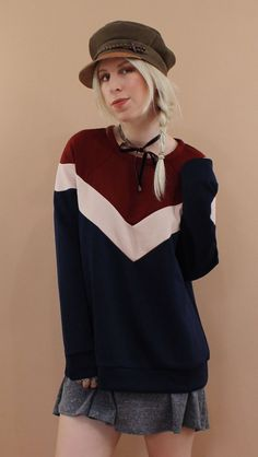 LUCCA COUTURE <br> 1974 Chevron Pullover - product images  of