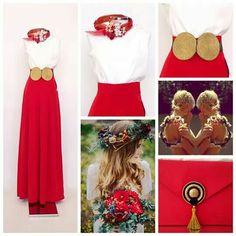Invitada# boda#trendy# palazzo pants# stylish