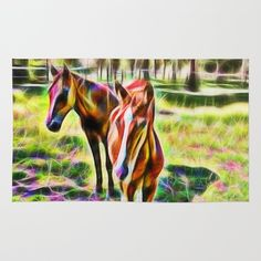 sold, thank you buyer: https://society6.com/product/horses-in-a-field-dvs_rug?curator=hereswendy