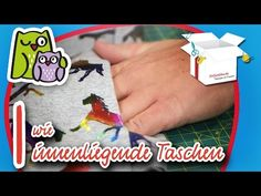 Innentaschen | Nählexikon A-Z #9 | Nähschule Anleitung Nähen lernen für Anfänger - YouTube