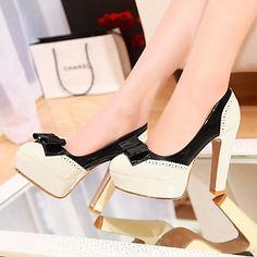 scarpe da donna pompe scarpe più colori disponibili tutto l'tacco grosso punta – EUR € 28.36