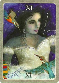 Card of the Day - Queen of Cups - Tuesday, February 16, 2016