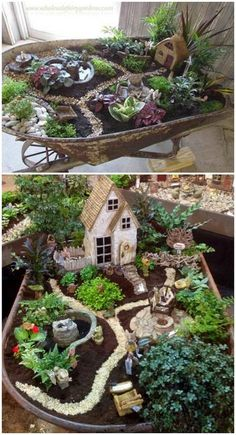 DIY Fairy Garden Design y accesorios DIY Fairy Garden Design y . - Diseño de jardín de hadas y accesorios de bricolaje DIY Fairy Garden Design y acceso - Fairy Garden Houses, Garden Art, Garden Ideas, Fairies Garden, Garden Whimsy, Gnome Garden, Wheelbarrow Garden, Diy Fairy Garden, Meadow Garden