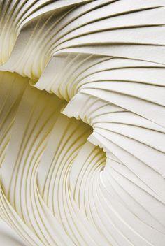 Miniature paper sculptures by Richard Sweeney