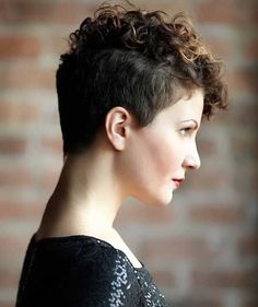 Trendy Curly and Wavy Pixie Cuts for 2017 - Styles Art