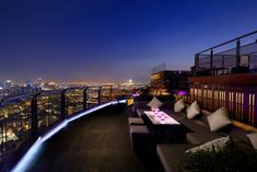 ZOOM at Sathorn Sky Bar & Restaurant is Bangkok's newest rooftop chill out venue, offering innovative bar and restaurant experiences. - SOLU Bangkok, Thailand