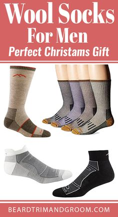 Wool socks for men can be a great gift for Christmas or birthday. Ideal present for your men and husband, boyfriend, dad, grandpa, boyfriend. Christmas Gifts For Boyfriend, Christmas Gifts For Friends, Boyfriend Gifts, Funny Gifts For Friends, Gifts For Dad, Extreme Cold Weather Boots, Beard Accessories, Christams Gifts, Ankle High Socks