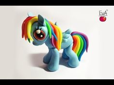 RAINBOW DASH - polymer clay - photo version - ponik z modeliny - YouTube