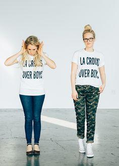 LaCroixs Over Boys #lacroixsoverboys