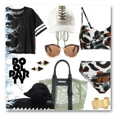 """""""Pool Party Perfection"""" by looking-for-a-place-to-happen ❤ liked on Polyvore featuring Puma, Norma Kamali, Marc Ellis, Joshua's, Marni, Isabel Marant and Vita Fede"""