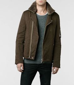 AllSaints Thorin Biker Jacket | Mens Biker Jackets