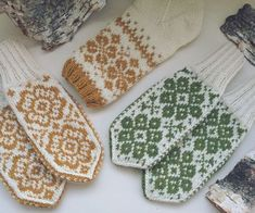 Knit Mittens, Baby Knitting, Pot Holders, Needlework, Knitting Patterns, Knit Crochet, Monogram, Floral, Blog