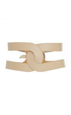 Maison Vaincourt M'O exclusive Cage Leather Waist Belt