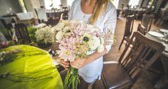 Bukiet w kolorach pastelowych / bouquet in pastel colors #flowers #wedding #bouquet #handmade #pastel #decoration #white #ceremony