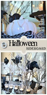 Dining Delight: Halloween Sideboard 2016