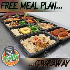 ". DOUBLE TAP  & TAG 3 friends  .  FOR THE NEXT 24HRS A LUCKY CUSTOMER WILL BE REFUNDED FOR THEIR NEW ORDER .  TAG YOUR FRIENDS AND DOUBLE YOUR CHANCES TO WIN   @f.itmeals   $8/$13 per meal. (depending on Size and items)  4 hours saved each week.  Healthy Organic Fresh  No Preservatives Low Sodium .  We currently ship nationwide including Hawaii Alaska and Puerto Rico   REMEMBER THAT FOR EVERY MEAL PLAN WE SELL WE WILL DONATE 1 MEAL TO PEOPLE IN NEED ""GET INVOLVED"" TODAY. .  Changing Lives…"