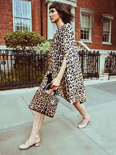Presenting: The animal-print lover's guide to fall