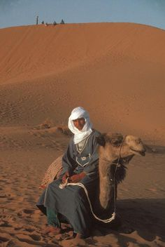 Morocco The Tamgroute dunes 1990
