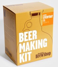 Beer Making Kit - Boyfriend Gift Ideas - Holiday Gift Guides - Gifts For Him