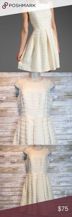 SHOSHANNA Ivory Bridgette tweed dress sz 4 SHOSHANNA ivory tweed dress sz 4.  Previously Worn Excellent Condition Shoshanna Dresses