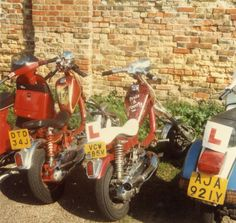 Lambretta choppers - Jack's Back and Pride & Poverty both sprayed by Pete Merchant (Rochdale)